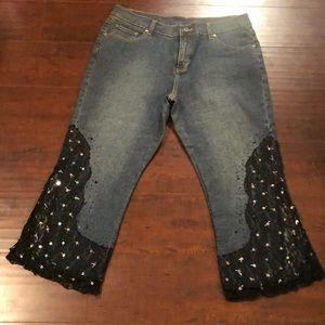 Denim - 🔵🥳>>>HP<<<🥳NWOT~Embellished Jeans